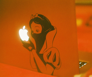 apple, beautiful, and laptop image