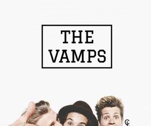 the vamps, background, and celebrity image
