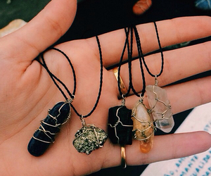 necklace, grunge, and tumblr image