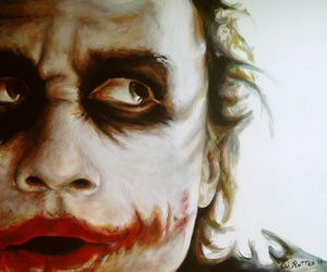 joker, batman, and art image