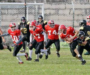 american football, amerian, and boys image
