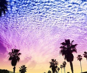california, clouds, and colours image
