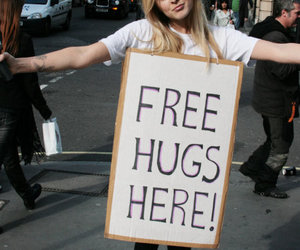 hug, girl, and free image