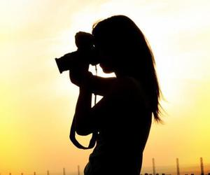 girl, canon, and photography image