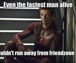 friendzone, funny, and the flash image