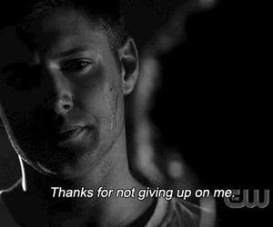 quote, supernatural, and dean winchester image