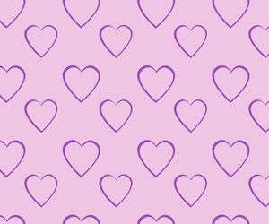 hearts and pattern image