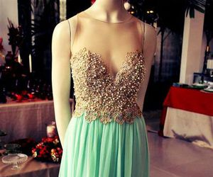 dress, fashion dress, and dress for prom image