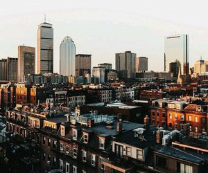 boston, boy, and city image