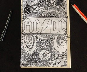 ac dc, ACDC, and band image