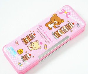 japanese, pink, and rilakkuma image
