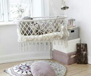 baby, home, and white image