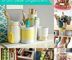diy, idea, and organizer image