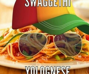 funny, swag, and yolo image