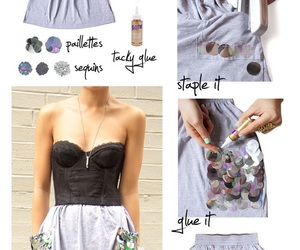clothes, craft, and diy image