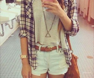 fashion, outfit, and girl style image
