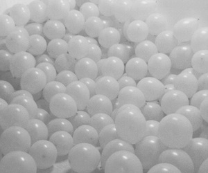 white, balloons, and grunge image