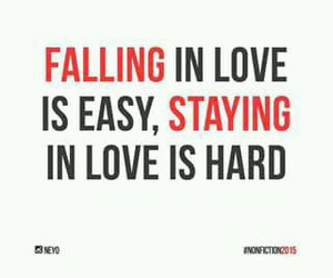true, love, and hard image