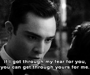 fear, gossip girl, and quote image