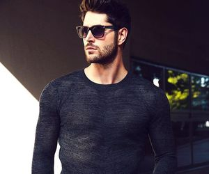 boy, nick bateman, and black image