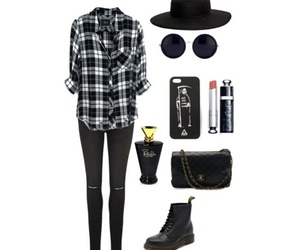 boots, shirt, and sunglasses image
