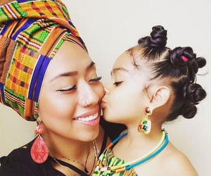beautiful, pretty, and african american woman image