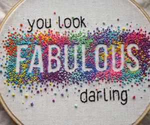crafts, embroidered, and embroidery image