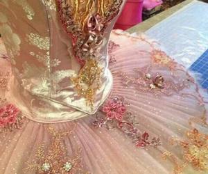 ballerina, ballet, and rose image