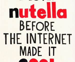 nutella, cool, and love image