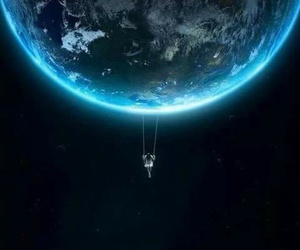 earth, world, and space image
