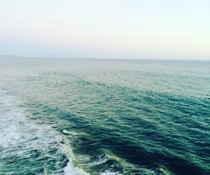 california, ocean, and santa monica image