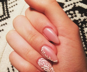 creamy, new love, and gelishnails image