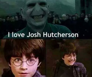 harry potter, funny, and josh hutcherson image