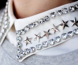 fashion, stars, and collar image