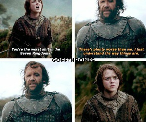quotes, arya stark, and game of thrones image