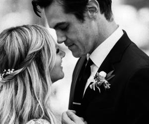 ashley tisdale, wedding, and bride image