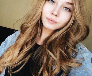 girl, beautiful, and woman image