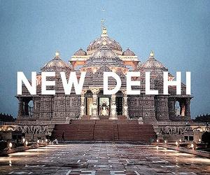 india and New Delhi image