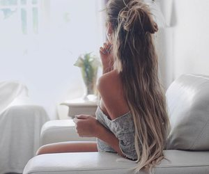hairstyle, long hair, and outfit image