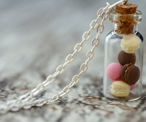 jewelry, macaron, and necklace image