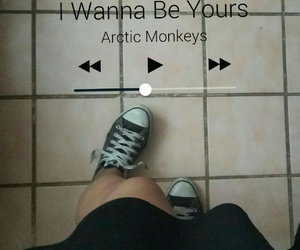 arctic monkeys, converse, and grunge image