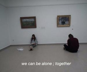 alone, art, and pale dark image