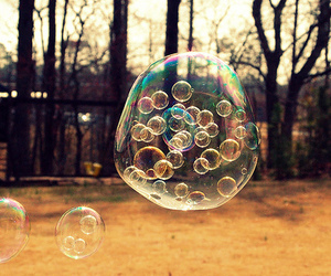 air, bubble, and fashion image