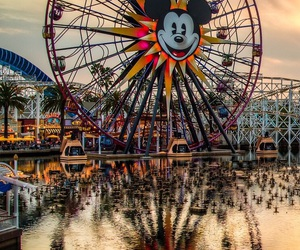 disney, disneyland, and photo image