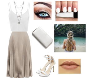 beige, fashion, and Polyvore image