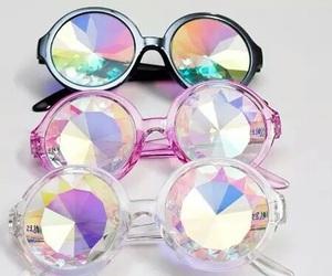 glasses and diamond image