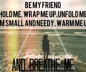 Lyrics, breathe me, and ️sia image