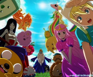 adventure time, anime, and finn image