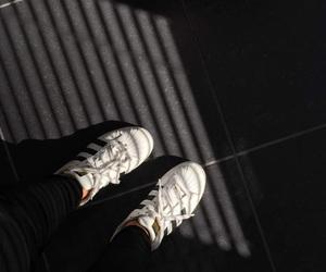 adidas, dark, and fashion image