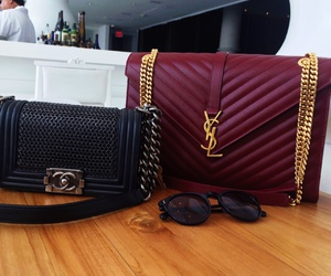 bag, chanel, and purse image